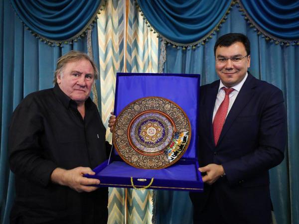 Jerar Depardye: Özbəkistan böyük mütəfəkkirlərin, alimlərin, ilahiyyatçıların vətənidir - FOTO