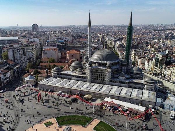 İstanbuldakı Taksim məscidi 2020-ci ildə istifadəyə veriləcək - FOTO