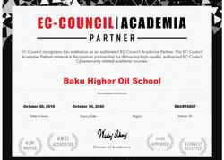 Bakı Ali Neft Məktəbi kibertəhlükəsizlik üzrə nüfuzlu təşkilatın rəsmi Akademiya Partnyoru seçilib