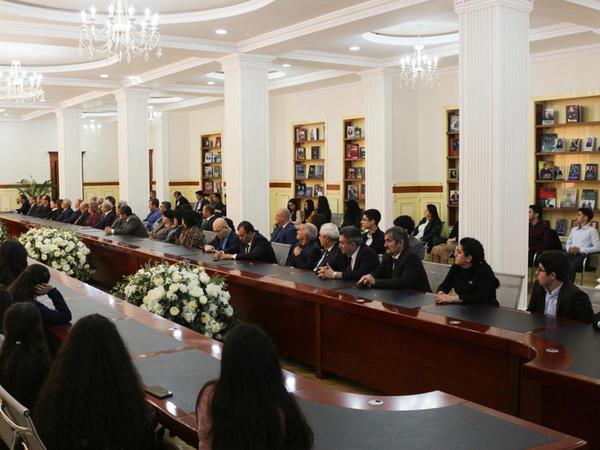 BDU-da Konstitusiya Günü qeyd edilib - FOTO