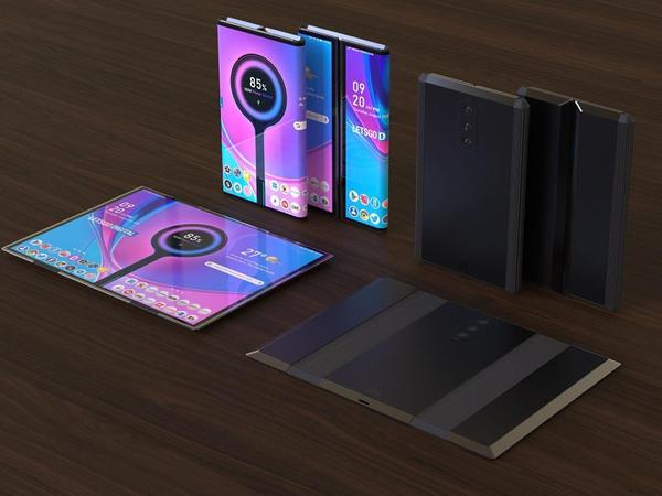 Xiaomi şirkəti qatlana bilən ekrana və 5 ön kameraya sahib smartfonun patentini aldı