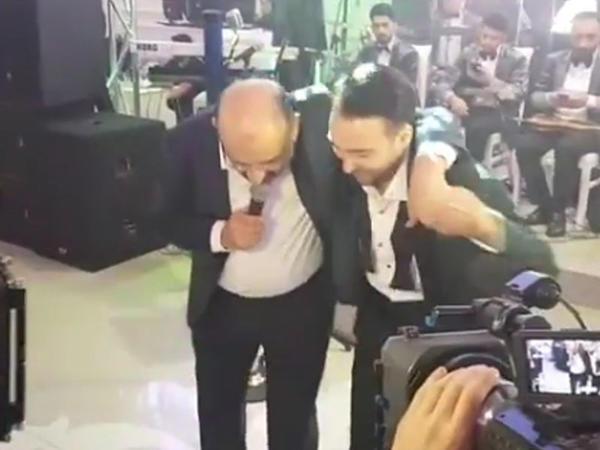 Eyyub Yaqubov bəylə rəqsi ilə diqqət çəkdi - VİDEO