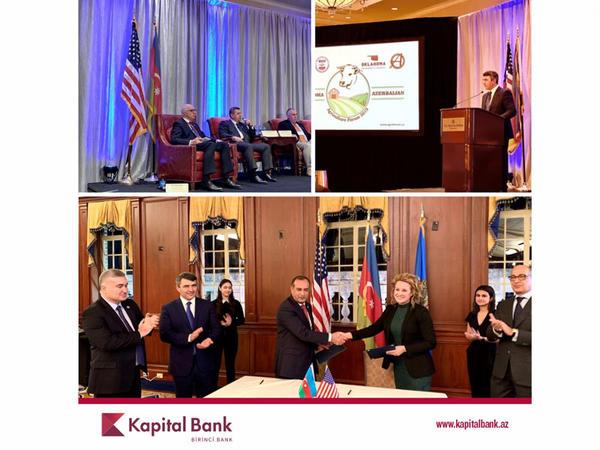 Kapital Bank növbəti beynəlxalq Kənd Təsərrüfatı Forumuna qatılıb