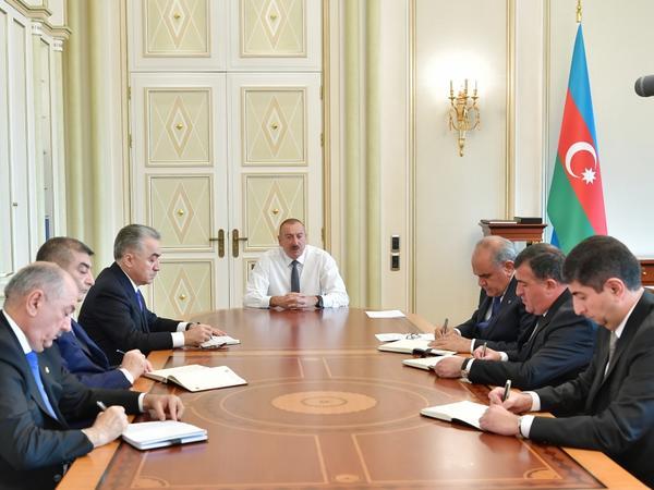 """Prezident İlham Əliyev: """"Son 16 il ərzində Azərbaycanda sürətli inkişaf dövrü yaşanır"""""""