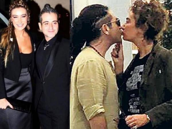Sıla sevgilisi ilə öpüşərkən görüntüləndi