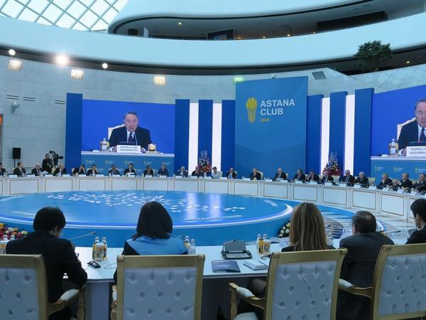 Nursultan Nazarbayev Avrasiya təhlükəsizlik modelinin yaradılmasını təklif edir