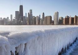 Çikaqoda şaxtalı hava 33 illik rekordu yeniləyib