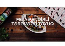 """""""Zeytun Bağları"""" ilə hazırlanmış Feta pendirli qırmızı lobya salatı - VİDEO"""