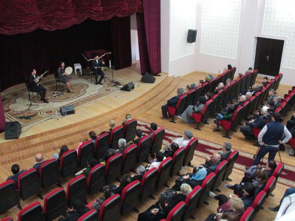 """Nardaranda """"Muğam dünyasına səyahət"""" konserti keçirilib - FOTO"""