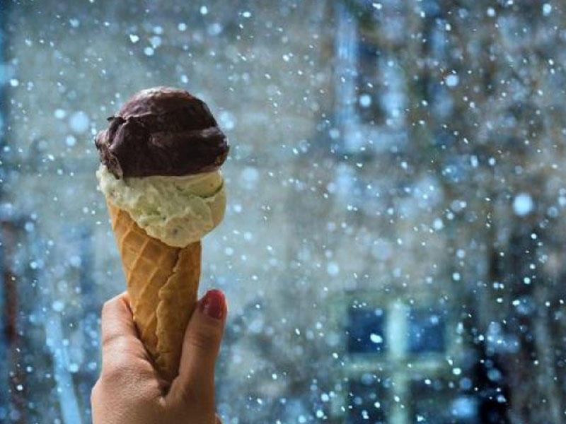 Qışda dondurma yemək faydalıdır - ALİMLƏR