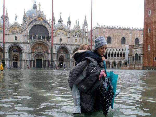 Venesiya daşqınlar altındadır