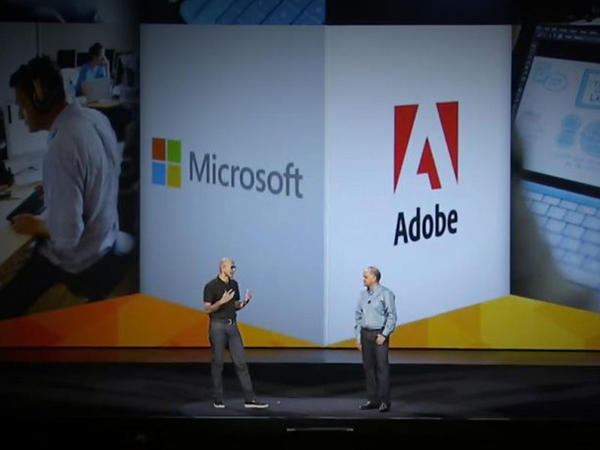 """""""Adobe"""" və """"Microsoft"""" şirkətləri """"bulud"""" bazarında əməkdaşlığı genişləndirir"""