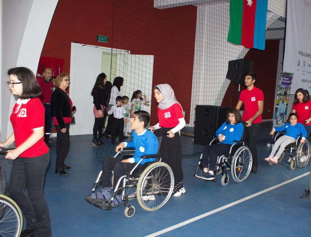 Bu gün Azərbaycanda sayca beşinci Uşaq Paralimpiya Oyunları keçirildi - FOTO