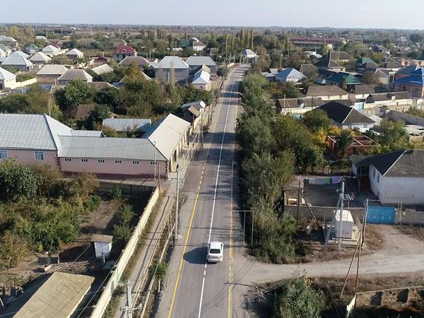 Zərdabda 4 kəndi birləşdirən avtomobil yolu yenidən qurulub - FOTO