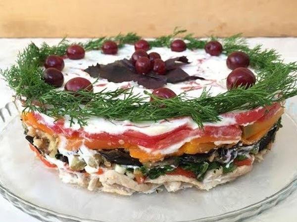 """Badımcan salatının hazırlanması - Usta öz sirlərini açır - <span class=""""color_red"""">VİDEO</span>"""