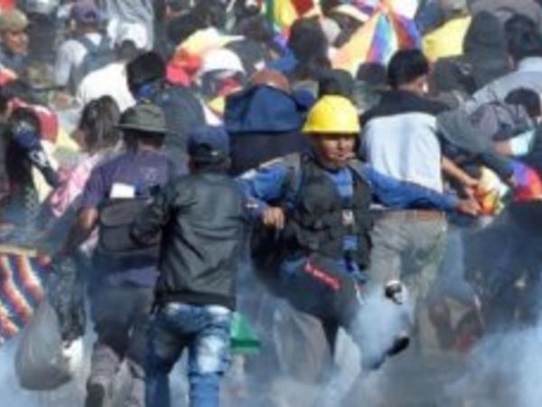 "Boliviyada etiraz aksiyaları - <span class=""color_red"">23 ölü</span>"