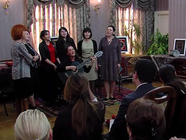 Muğam Mərkəzinin fəaliyyəti Gürcüstanın televiziya kanalında geniş işıqlandırıldı - VİDEO