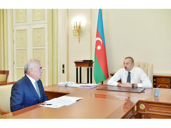 """Prezident İlham Əliyev: """"Heç bir daxili enerji resursu olmayan Naxçıvan hazırda elektrik enerjisini ixrac edir"""""""
