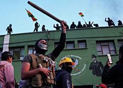 """Boliviyada yenidən aksiyalar başladı - <span class=""""color_red"""">Müvəqqəti prezidentə qarşı</span>"""