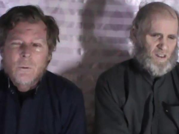 Taliban iki qərbli girovu azad edib