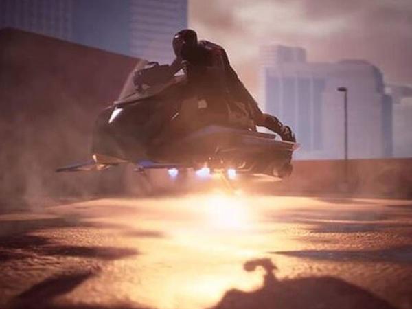 ABŞ-da uçan motosiklet ixtira etdilər