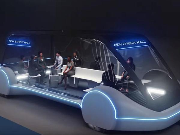 Las-Veqas altında sürücüsüz avtomobillər üçün sürətli tunelin inşasına başlanılıb