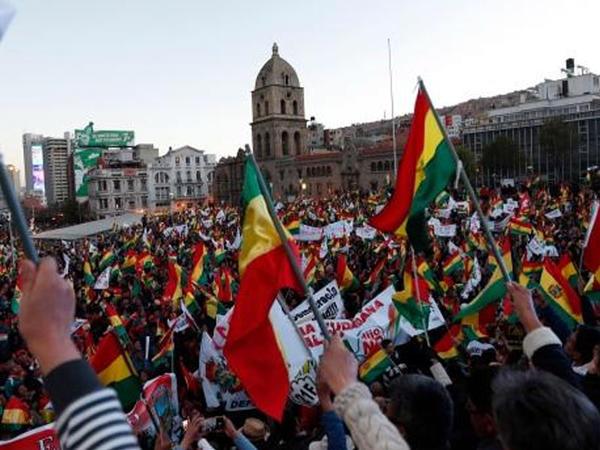 """Boliviyada toqquşmalar zamanı 3 nəfər ölüb, <span class=""""color_red"""">30 nəfər yaralanıb</span>"""