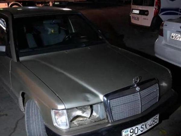 Balaxanıda piyadanı avtomobil vurub, vəziyyəti ağırdır - FOTO