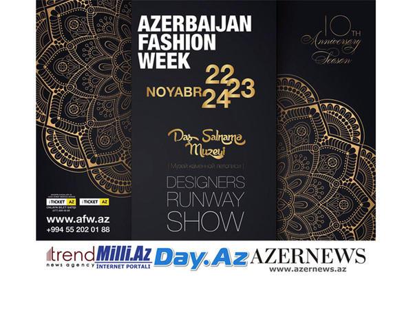 Bakıda Azerbaijan Fashion Week (Azərbaycan Moda Həftəsinin) 10-cu yubiley mövsümü keçiriləcək