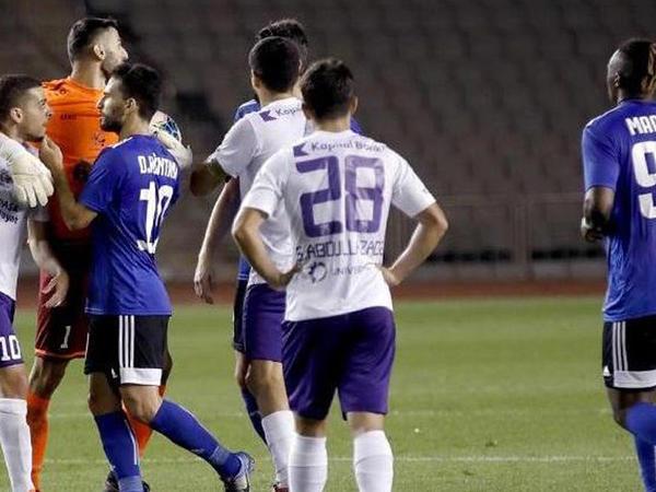 """""""Qarabağ"""" """"Sumqayıt""""a uduzdu"""