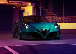 """Alman tüner Alfa Romeo 4C modelini """"Zevsə"""" çevirib - FOTO"""