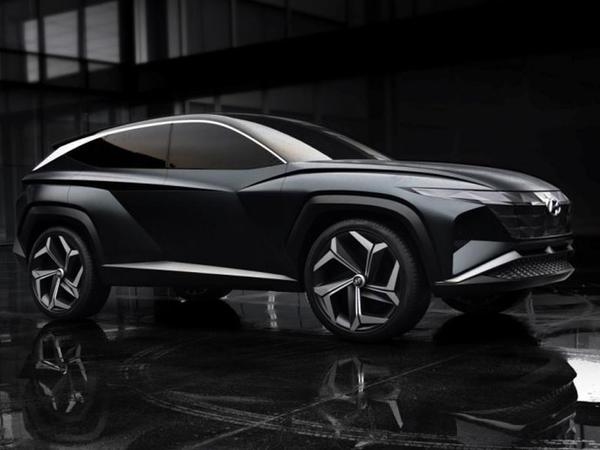 Hyundai yeni Tuscon modelini dizayn üslubunu nümayiş etdirib - FOTO