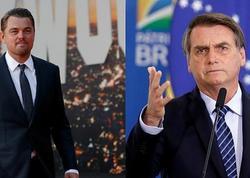 Prezident Amazon meşələrindəki yanğına görə Leonardo Di Kaprionu günahlandırıb