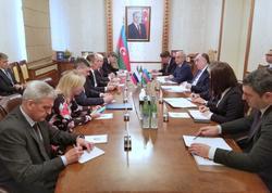 XİN Elmar Məmmədyarovla Sergey Lavrovun görüşünün təfərrüatlarını açıqladı - FOTO