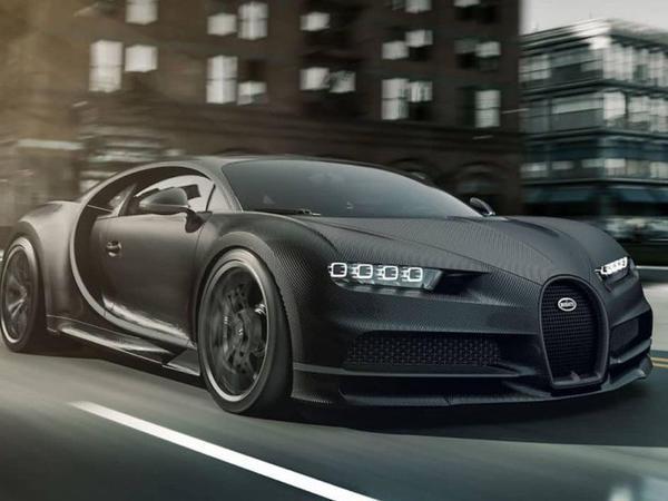 """Bugatti Chiron modelinin """"qara"""" versiyasını hazırlayıb - FOTO"""