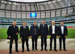 Şenol Günəş Olimpiya Stadionunda - FOTO