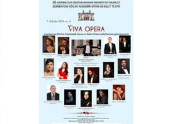 """Bakıda """"Viva Opera"""" adlı qala konsert keçiriləcək"""