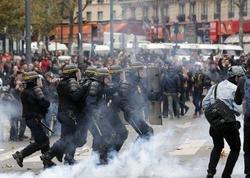 Parisdə etiraz aksiyası zamanı 90 nəfər saxlanılıb