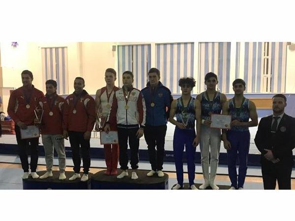 İdman gimnastlarımız Rusiyadakı beynəlxalq turnirdən medallarla geri dönür