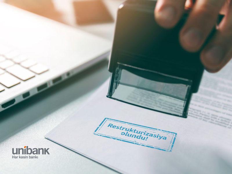 Unibank müştərisi restrukturizasiyadan sonra ayda cəmi 43 qəpik kredit ödəyəcək