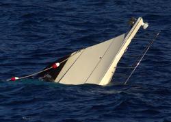 Gürcüstanda balıqçı gəmisi qəzaya uğrayıb