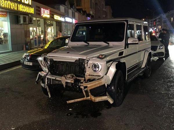 "Bakıda dörd avtomobil toqquşub - <span class=""color_red"">FOTO</span>"