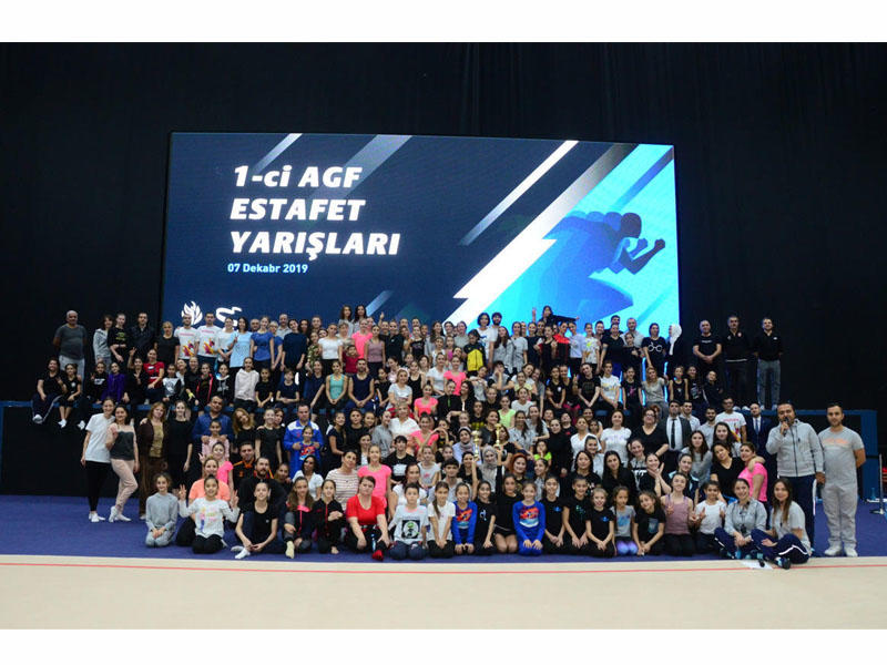 Azərbaycan Gimnastika Federasiyasının Birinci estafet yarışlarının qalibləri müəyyənləşib -  FOTO