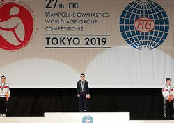 Tokioda növbəti yeniyetmə gimnastımız qızıl medal qazanıb - FOTO