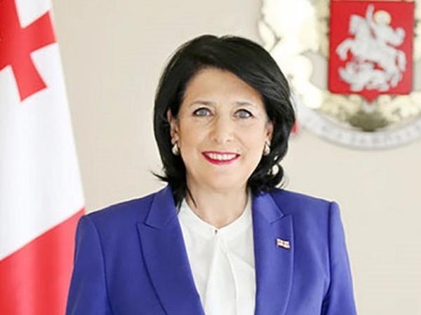 """Salome Zurabişvili: """"Azərbaycan Prezidenti İlham Əliyev zəmanəmizin ən uğurlu liderlərindən biridir"""""""