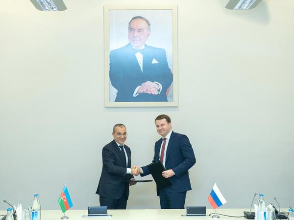 """Azərbaycan-Rusiya arasında Niyyət Protokolu imzalanıb - <span class=""""color_red"""">FOTO</span>"""