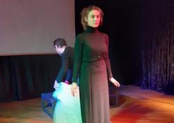 """Kukla Teatrında """"O qadın"""" - FOTO"""