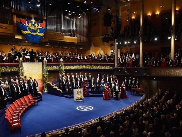 """Stokholmda 2019-cu il üzrə Nobel mükafatları <span class=""""color_red"""">təqdim edilib</span>"""