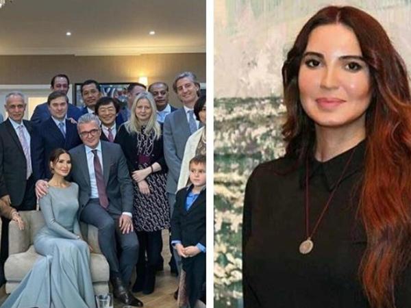 Azərbaycanlı rəssam xorvatiyalı səfirə ərə getdi - FOTO