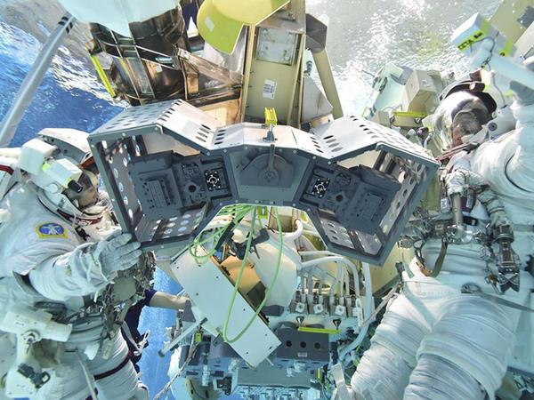 Beynəlxalq Kosmik Stansiyada robotlar üçün saxlanc yeri quraşdırılacaq